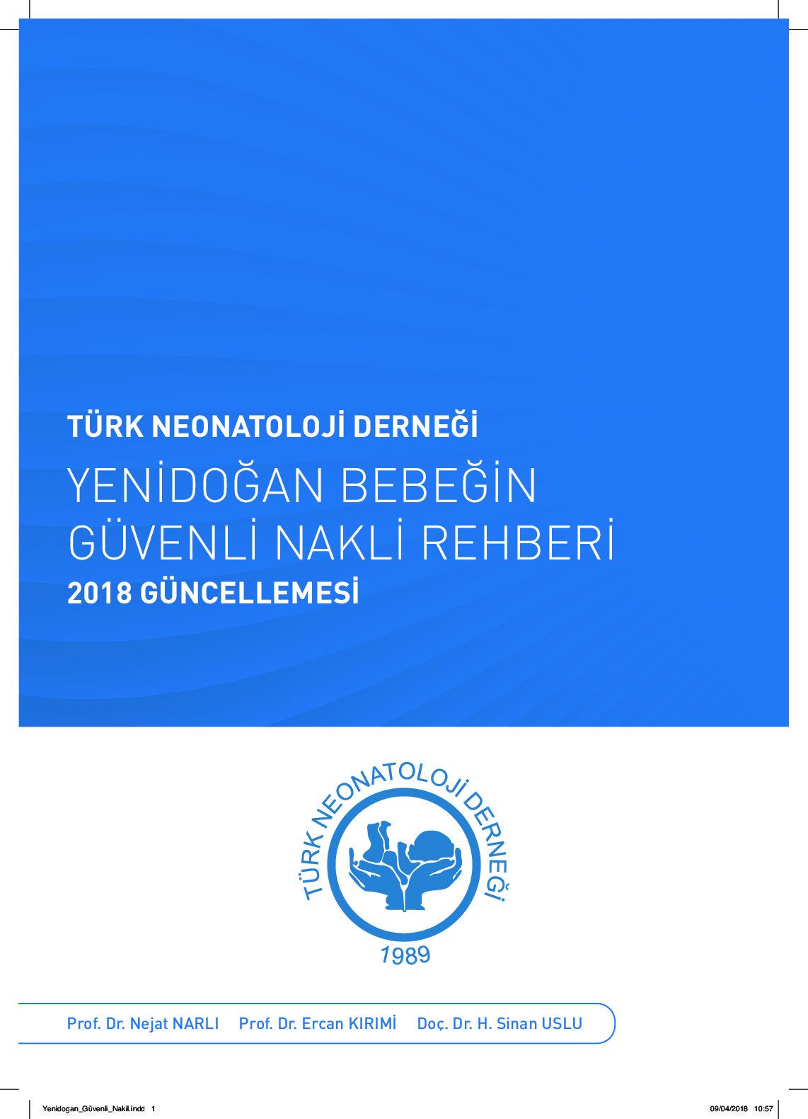 thumbnail of Yenidoğan Bebeğin Güvenli Nakli Rehberi - 2018