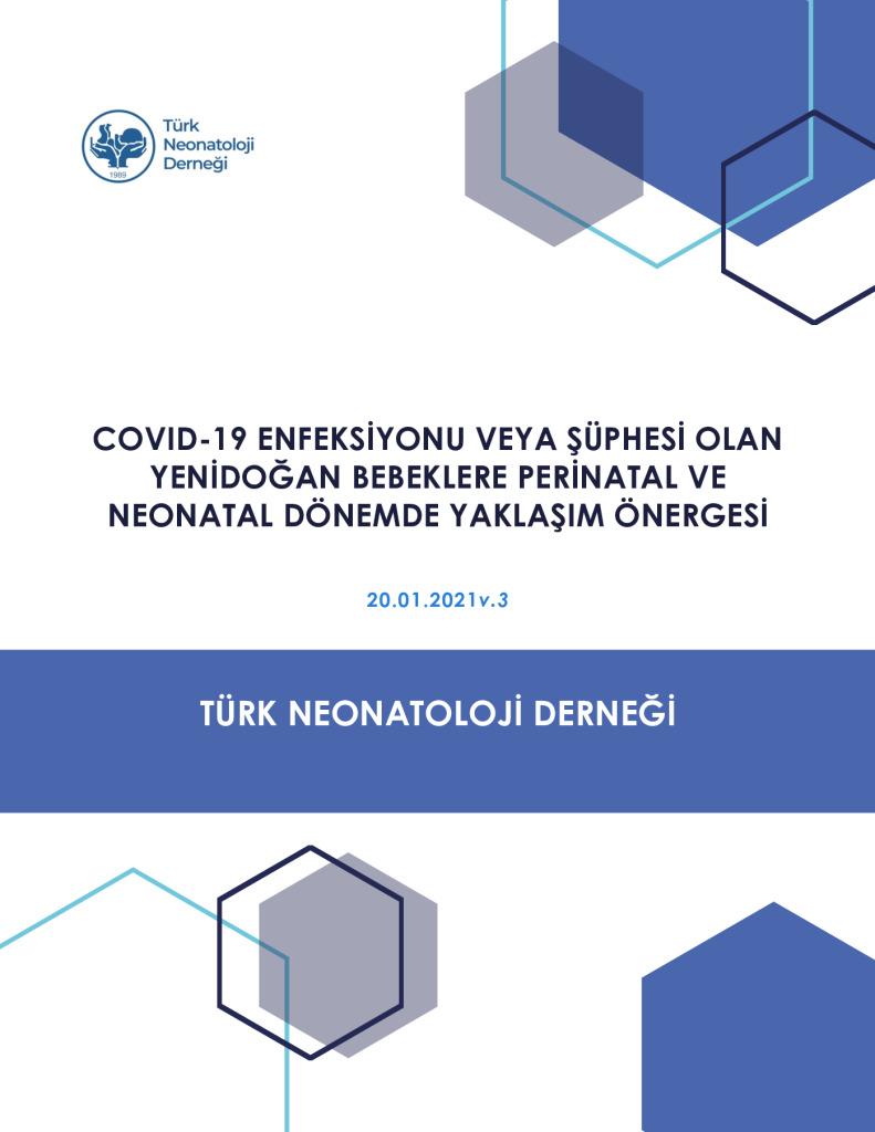 """thumbnail of The Türk Neonatoloji̇ Derneği̇ """"covid-19 (Sars-cov2) Enfeksi̇yonu Veya Şüphesi̇ Olan Yeni̇doğan Bebeklere Peri̇natal Ve Neonatal Dönemde Yaklaşım Öneri̇leri̇"""" V.3 (20.01.2021)"""